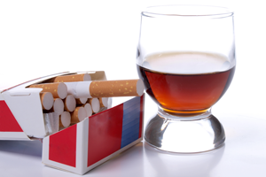 Alcohol and Cigarettes