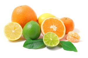 Assorted Sliced Citrus Fruits